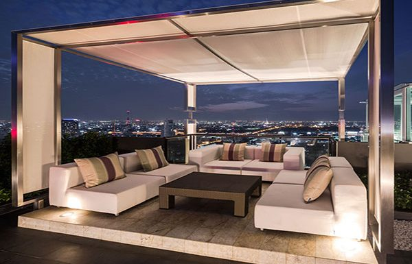 M-PhayaThai-Bangkok-condo-for-sale-rooftop-party-deck